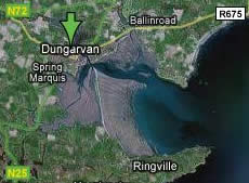 Google Map of Dungarvan